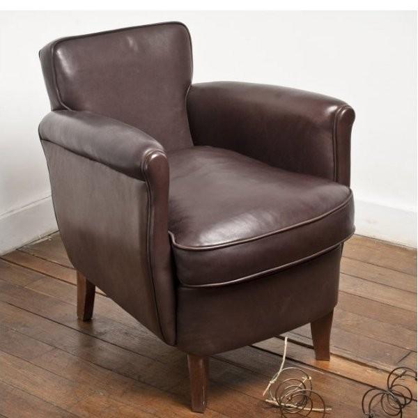 fauteuil club sous marinier auctions art market. Black Bedroom Furniture Sets. Home Design Ideas
