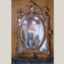 Miroir style Louis XV