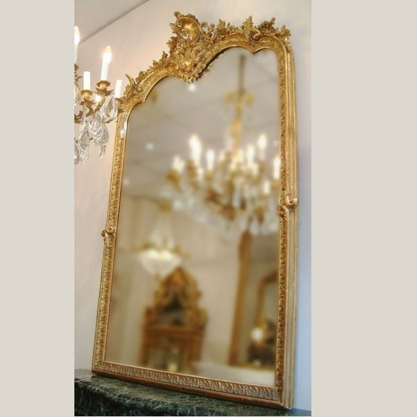 miroir style louis xv. Black Bedroom Furniture Sets. Home Design Ideas
