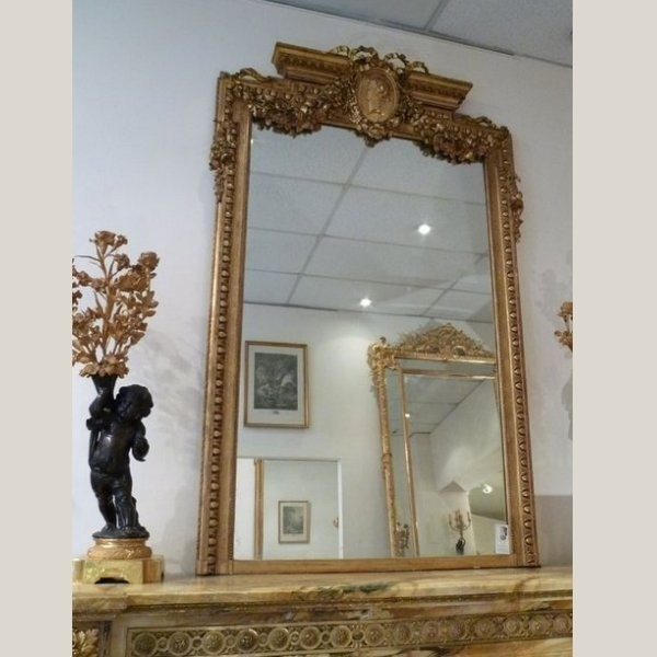 miroir de style louis xv. Black Bedroom Furniture Sets. Home Design Ideas