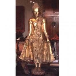 Statuette dorée