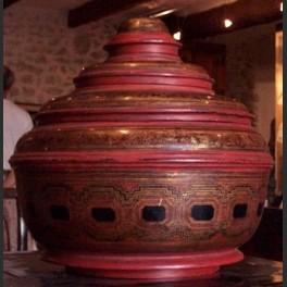 Boite décorative d'Asie