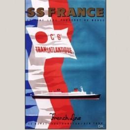 Affiche Ce Générale Transatlantique