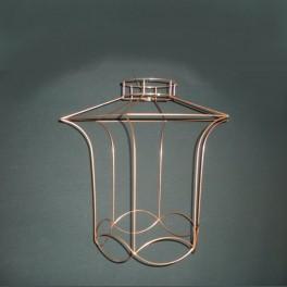 lanterne carcasse d 39 abat jour. Black Bedroom Furniture Sets. Home Design Ideas
