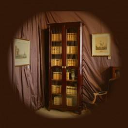 décoration ameublement, bibliothèque style transition