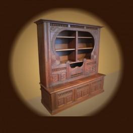 """decoration ameublement, bibliothèque """"Quimper"""""""