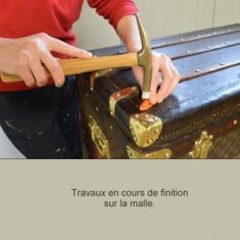 Restauration malles anciennes, Le Monde du Voyage